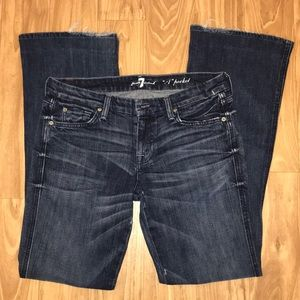 """7 for all mankind """"A"""" pocket jeans - Size 30"""
